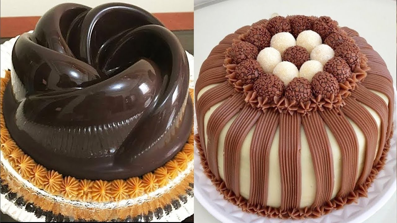 How To Make A Chocolate Cake Decorating Easy Chocolate